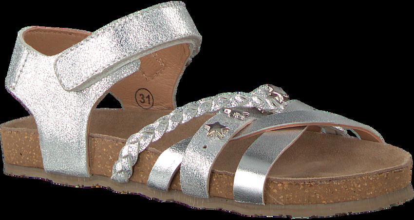 Silberne APPLES & PEARS Sandalen FORTUNA  - larger