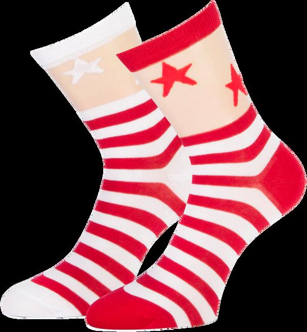 Rote MARCMARCS Socken CATHARINA - large