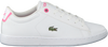 Weiße LACOSTE Sneaker CARNABY EVO BL  - small