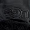 Schwarze UGG Handschuhe CLASSIC LOGO GLOVE  - small