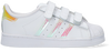 Weiße ADIDAS Sneaker low SUPERSTAR CF I  - small