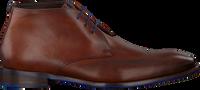 Cognacfarbene FLORIS VAN BOMMEL Business Schuhe 20376  - medium