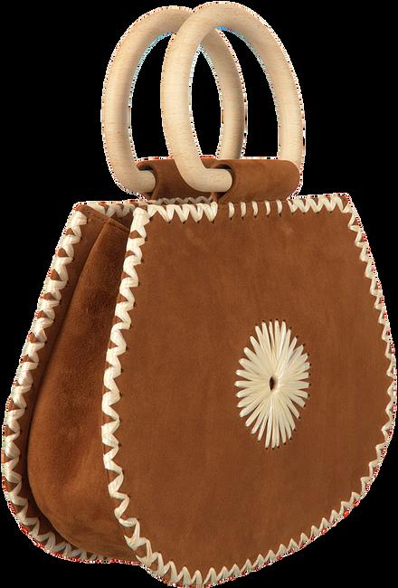 Cognacfarbene UNISA Handtasche ZGOLUM - large