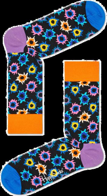 Schwarze HAPPY SOCKS Socken BANG BANG - large
