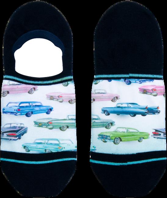 Blaue XPOOOS Socken CAR SHOW  - large