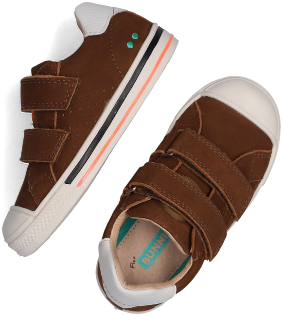 Cognacfarbene BUNNIES JR Sneaker low FILIP FERM  - large