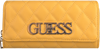 Gelbe GUESS Portemonnaie SWEET CANDY SLG LRG CLTCH ORG  - small