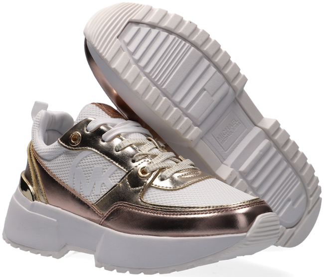 Goldfarbene MICHAEL KORS Sneaker low COSMO SPORT  - large