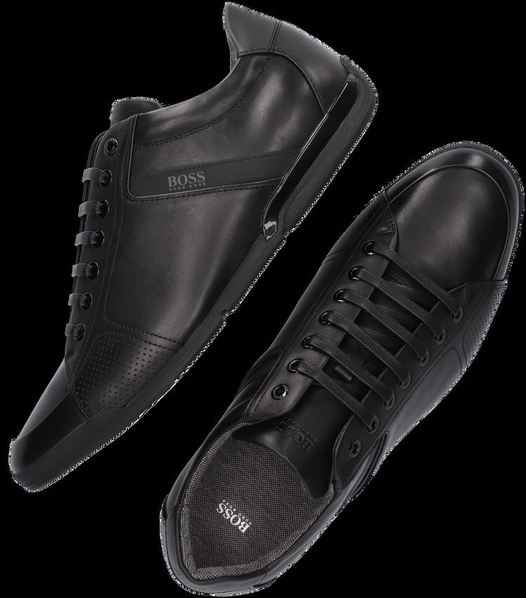 Schwarze HUGO BOSS Sneaker SATURN LOWP  - larger