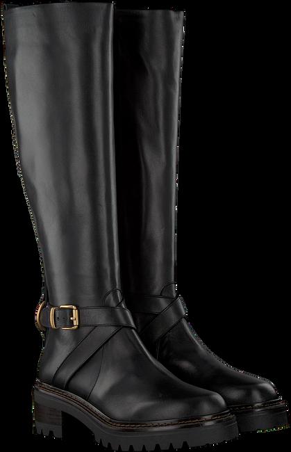 Schwarze NOTRE-V Hohe Stiefel B4310  - large