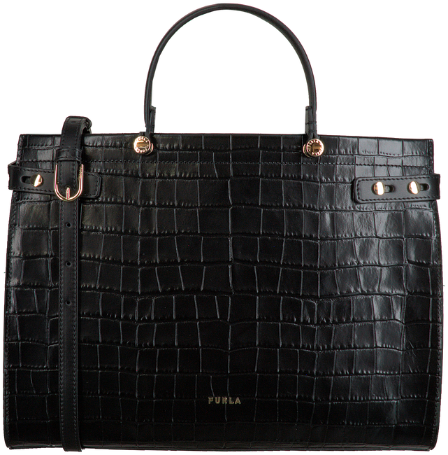 Schwarze FURLA Handtasche LADY M L TOTE  - large