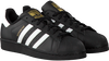 Schwarze ADIDAS Sneaker SUPERSTAR HEREN - small