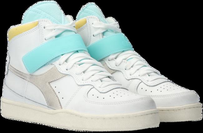 Weiße DIADORA Sneaker high MI BASKET MID ICONA WN  - large
