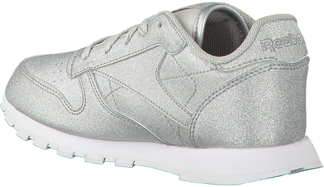 Silberne REEBOK Sneaker CL LEATHER KIDS - large