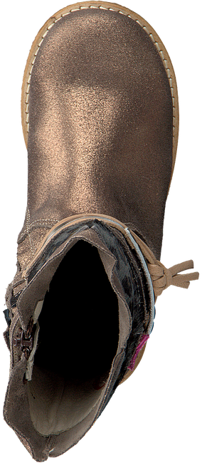 Bronzefarbene SHOESME Langschaftstiefel CR7W092 - large