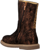 Bronzefarbene SHOESME Hohe Stiefel CC20W002  - small
