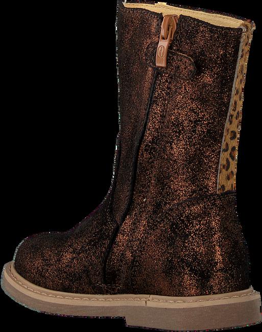 Bronzefarbene SHOESME Hohe Stiefel CC20W002  - large