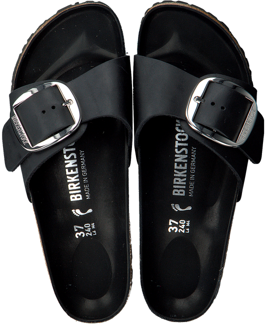 Black BIRKENSTOCK PAPILLIO shoe MADRID BIG BUCKLE  - large