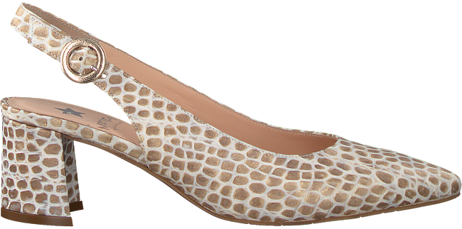 Beige MARIPE Pumps 30276  - large