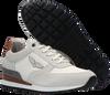 Weiße PME Sneaker low LOCKPLATE  - small