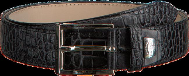 Schwarze GIORGIO Gürtel HE1023  - large