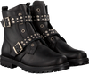 Schwarze SIMONE MATHIEU Biker Boots 3340 - small