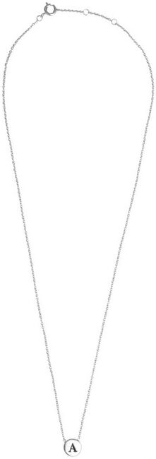 Silberne ALLTHELUCKINTHEWORLD Kette CHARACTER NECKLACE LETTER SILV - large