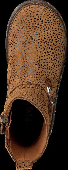 Cognacfarbene DEVELAB Stiefeletten 42508  - large