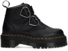 Schwarze DR MARTENS Ankle Boots DEVON HEART  - small