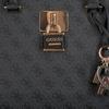Beige GUESS Handtasche DOWNTOWN COOL STATUS SATCHEL  - small