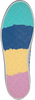 Weiße TOMMY HILFIGER Schnürschuhe RAINBOW PLATFORM  - small