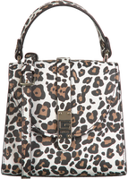 Mehrfarbige/Bunte GUESS Handtasche NEREA TOP HANDLE FLAP  - medium