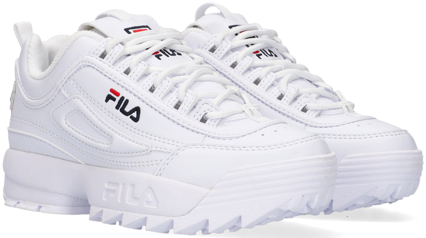 Weiße FILA Sneaker 1010567 DISRUPTOR KDS - larger