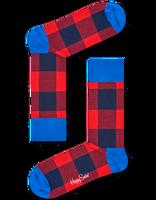 Rote HAPPY SOCKS Socken LUMBERJACK - medium