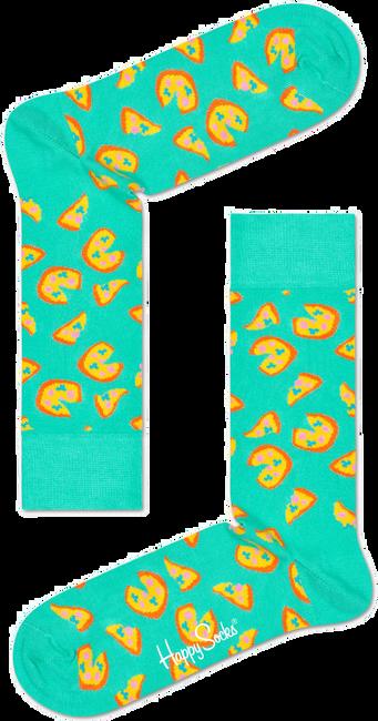 Schwarze HAPPY SOCKS Socken JUNK FOOD - large
