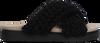 Schwarze INUIKII Pantolette WOVEN  - small