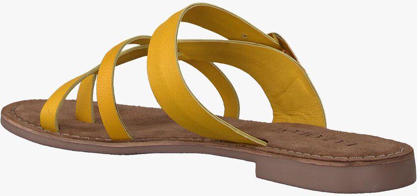 Gelbe LAZAMANI Pantolette 75.608  - larger