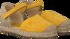 Gelbe UNISA Sandalen YIXO - small