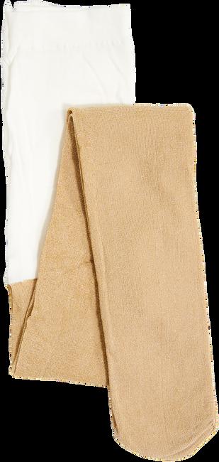 Goldfarbene LE BIG Socken SPARKLE TIGHT  - large