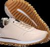 Weiße WODEN Sneaker low YDUN CROCO SHINY  - small