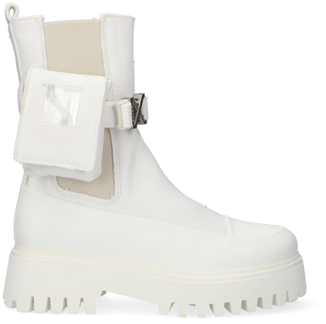 Weiße BRONX Chelsea Boots GROOV-Y  - large