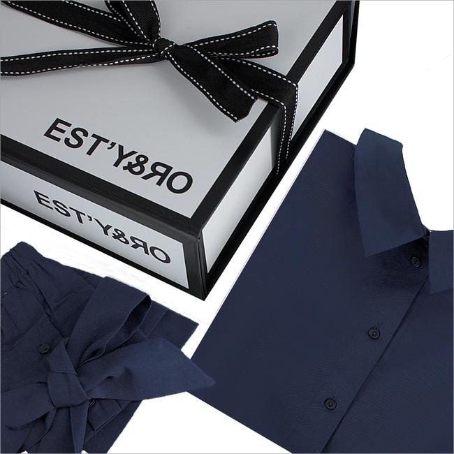 Blaue EST'Y&RO Kragen EST'44 - large