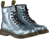 Silberne DR MARTENS Ankle Boots 1460 K CRINKLE  - small