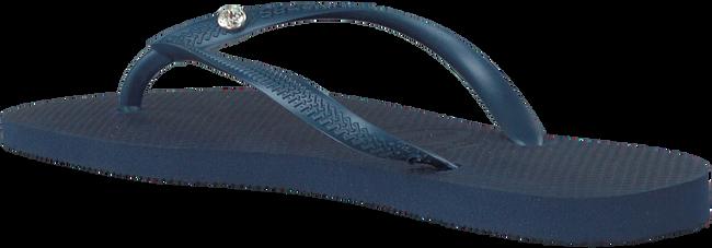 Blaue HAVAIANAS Zehentrenner SLIM CRYSTAL GLAMOUR - large