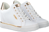 Weiße GUESS Sneaker FLOWURS STIVALETTO  - small