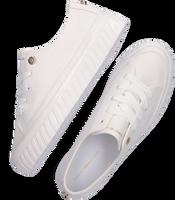 Weiße TOMMY HILFIGER Sneaker low SHINY FLATFORM VULC  - medium