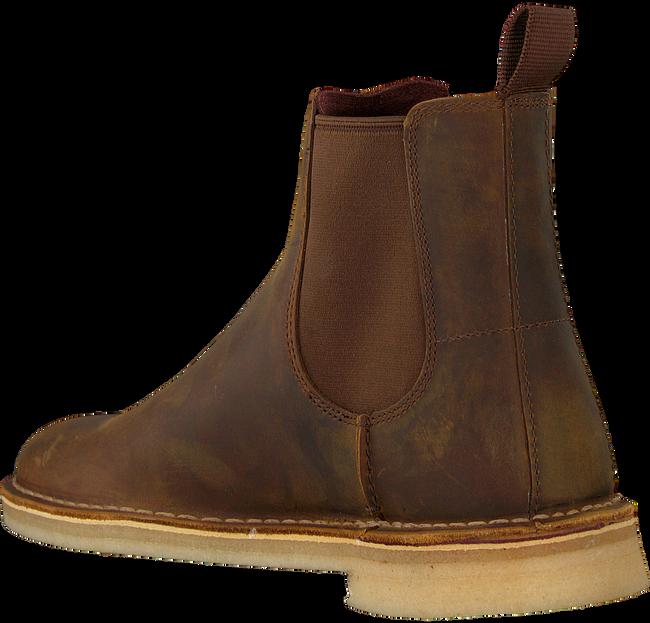 Braune CLARKS Chelsea Boots 26138267 DESSERT PEAK - large