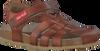 Cognacfarbene RED RAG Sandalen 19037 - small