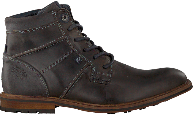 Graue GAASTRA Ankle Boots CREW HIGH BOAT - large