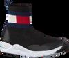 Schwarze TOMMY HILFIGER Sneaker high BOOTIE SNEAKER  - small